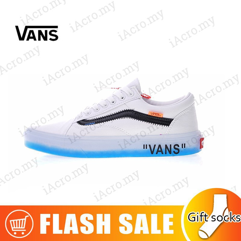 f448fc8a2c FAST SHIPPINGOriginal Vans X OFF-WHITE Men's and women's casual shoes |  Shopee Singapore