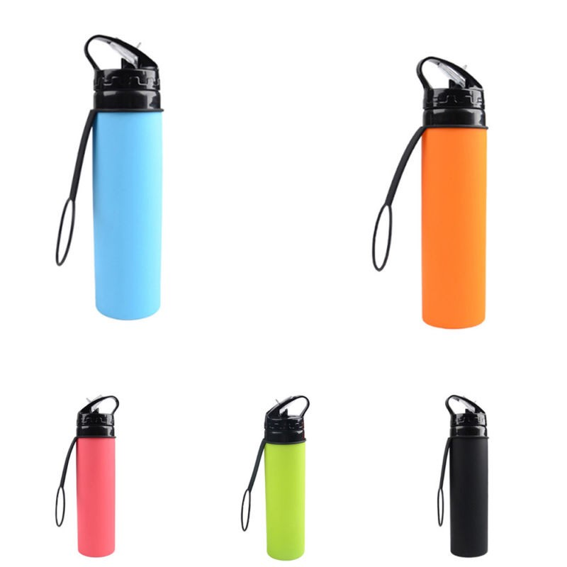 Portable Outdoor Sport Travel Water Bottle Leak-proof Camping Portable Bottles