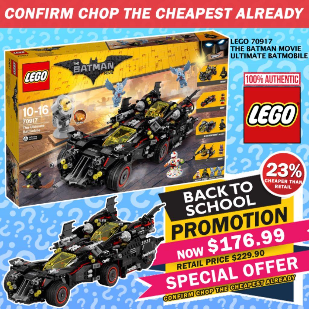 70917 Movie Ultimate Batmobile Batman Lego The dBerxoWC