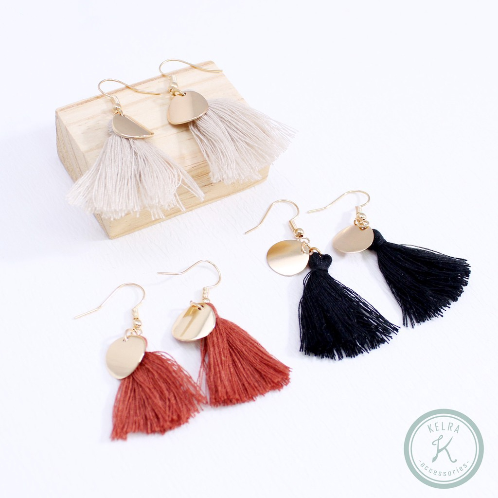 Jewelry & Accessories Candid Fashion 1pair Metal Weaving Dangle Earrings Drop Party Personality Long Tassel Chain Earrings Various Styles