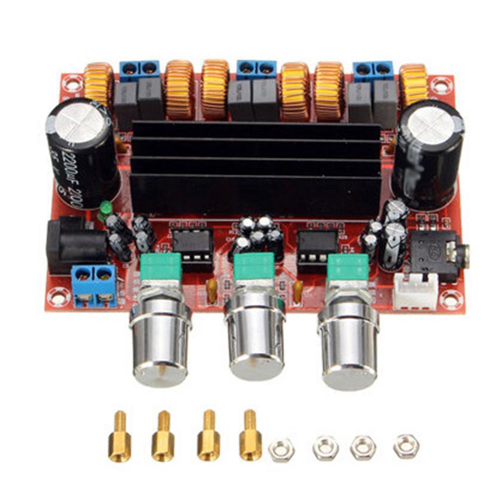 100W 2.1 Channel Digital Subwoofer Power Amplifier Board TPA3116D2 New 2x50W