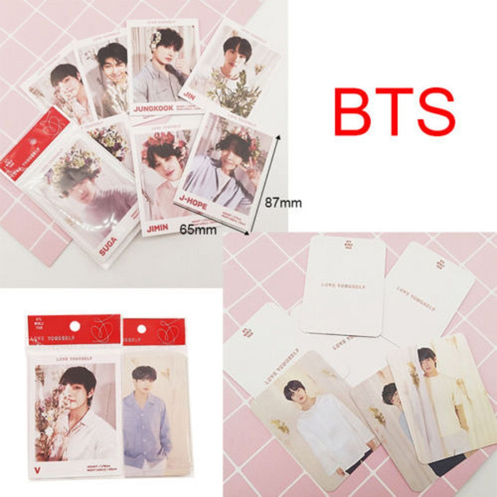 Jewelry & Accessories Jewelry Findings & Components Supply Kpop Bts Love Yourself Answer E Version Paper Photo Cards Autograph Photocard 7pcs/set Jimin Jungkook Complete Range Of Articles