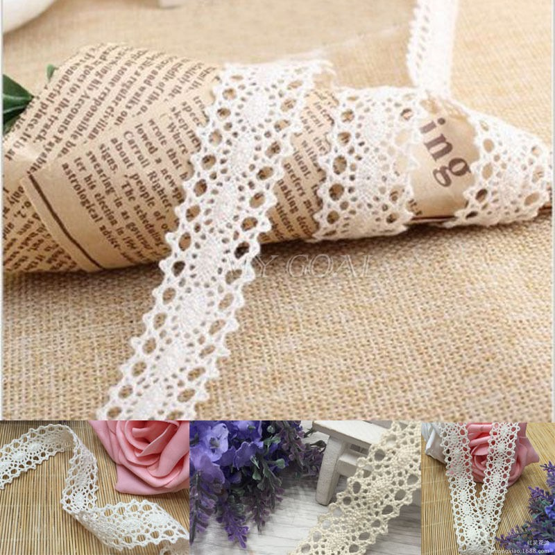 3 yards Ribbon glitter effect 25mm 2.5 cm lace trim costumes crafts A* Quality