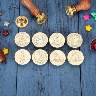 Pentagram Pentagram Wax Stamp VIHOME Five Continents Map Wax Sealing Stamp with Brass Head Black Wooden Handle for Wedding Invitations