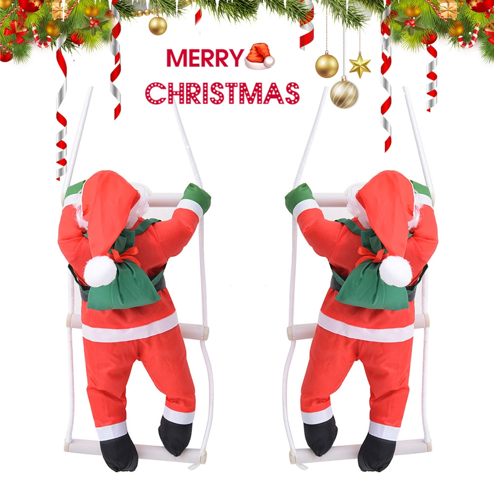 decoration Pendant Santa Clause Home Hanging Ornaments Merry christmas doll