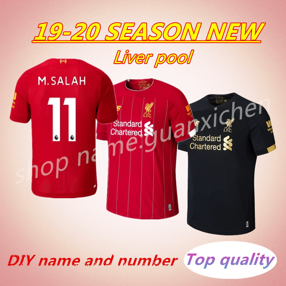 8d5ce34d0 Original Liverpool Jersey Limited Edition Black Out Football Jersey 2018- 2019