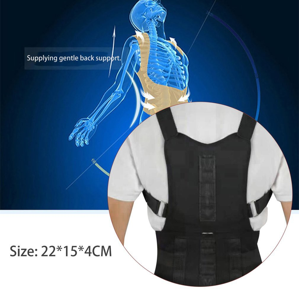 Posture Corrector Medical Supplies Price And Deals Health Support Power Magnetic Back Corset Wellness Nov 2018 Shopee Singapore