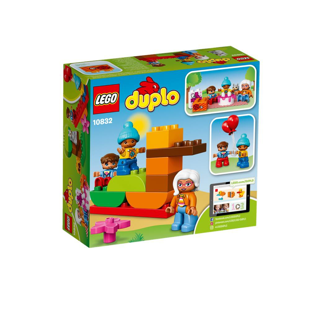 LEGO Duplo Birthday Party 10832 with 3 Duplo People /& Squirrel New Boxed Set