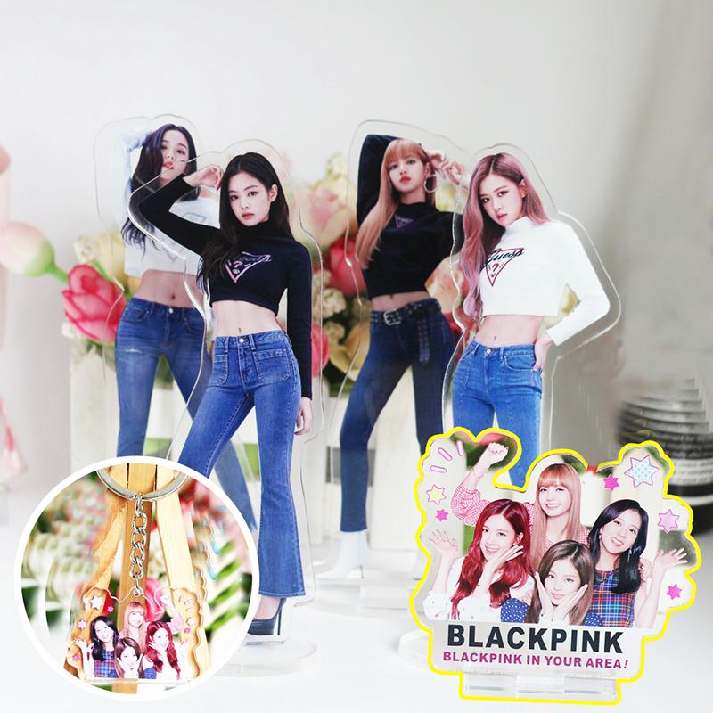 Kpop Blackpink In Your Area Acrylic Standee Action Figure