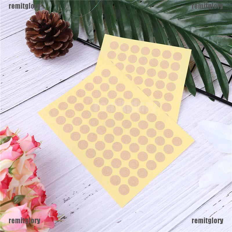 Paper Gift Tags Colorful Hole Rings Stickers For Christmas Accessories Materials