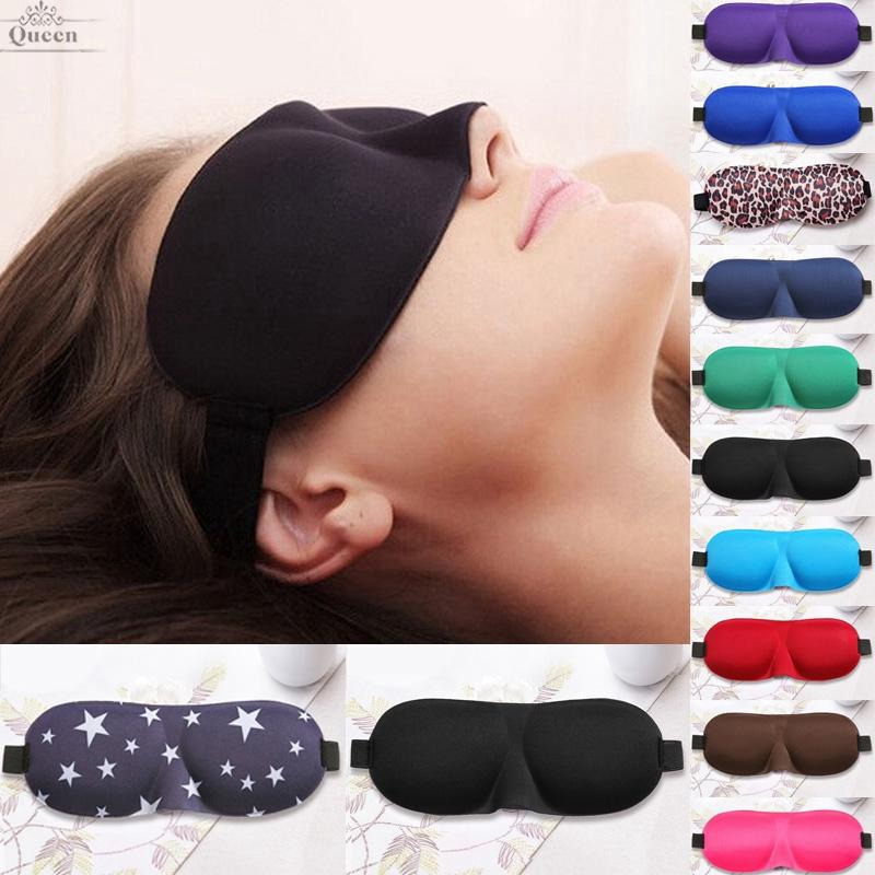 Men/&Women 3D Padded Cute Animal Blindfold Eye Mask Travel Sleep Aid Shade Covers