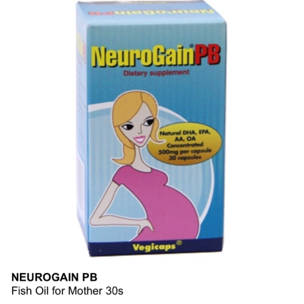 Neurogain pb 250mg dha fish oil for pregnancy sealed for Fish oil during pregnancy