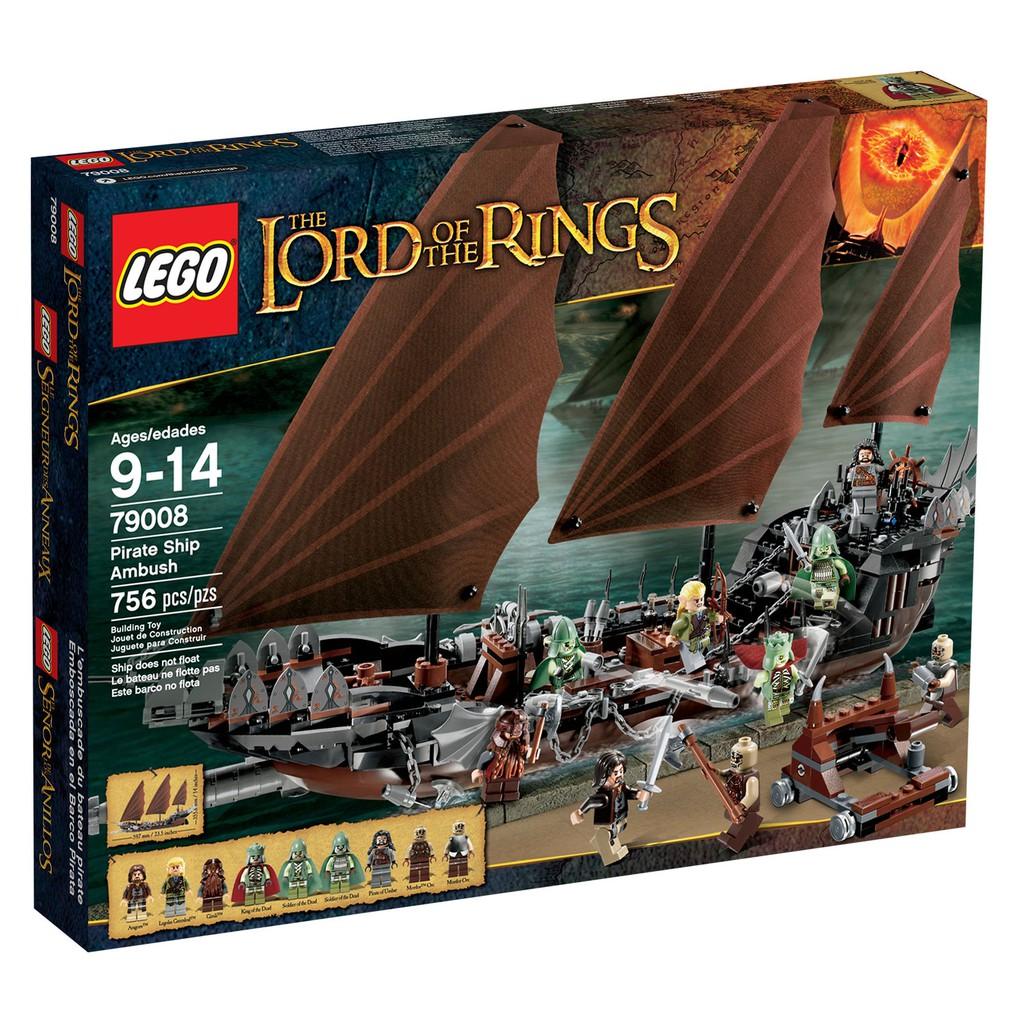 Ambush 79008 Lego Ship Lotr Lord The Rings Of Tansh wkPilOZTXu