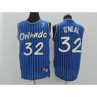 low priced 28cf5 7775e NBA Jersey Ou Fei Shaquille O'Neal Magic 94-95 Retro Black ...