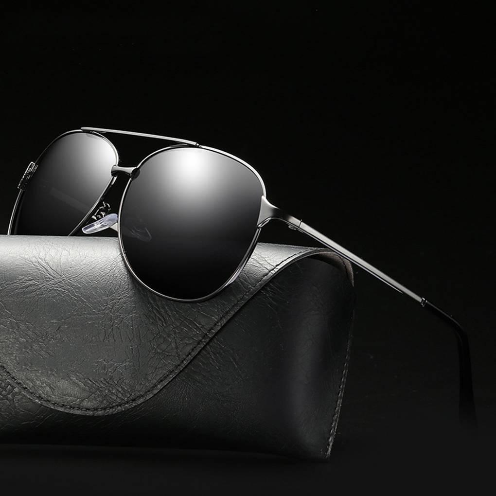 9c3dc6ac3df4 Coolsir Men Polarized Sunglass UV400 Protection Alloy Frame Eyewear Outdoor  Driving Eyeglasses