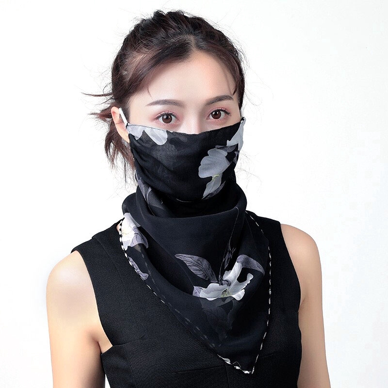 5Pcs Cute Cotton Mask Anti-Dust Unisex Protective Earloop Cycling Washable Face Mask Protection Gauze NOBRAND Adjustable And Breathable Mouth Mask Color : Flower 11, Size : Adjustable