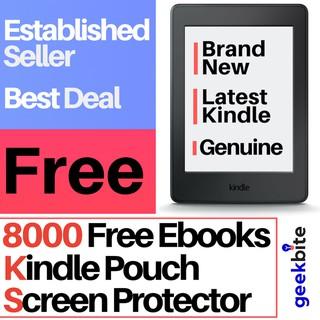 Cheapest GeekBite Amazon Kindle Basic 2019 with backlight +
