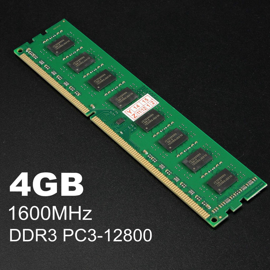 Xiede 4gb Ddr3 1600 Pc3 12800 Dimm Memory Ram 240 Pin For Amd System Memori Pc Desktop Shopee Singapore