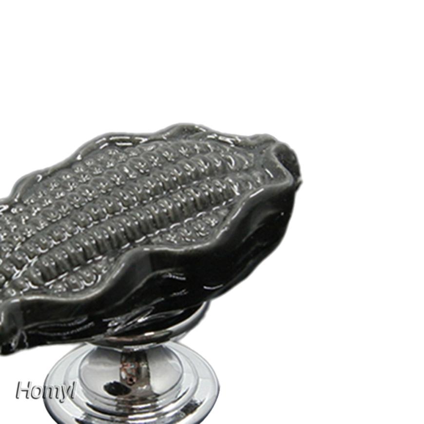 Homyl 10x Cabinet Drawer Pull Handle Dresser Wardrobe Cupboard Knob Ring Silver