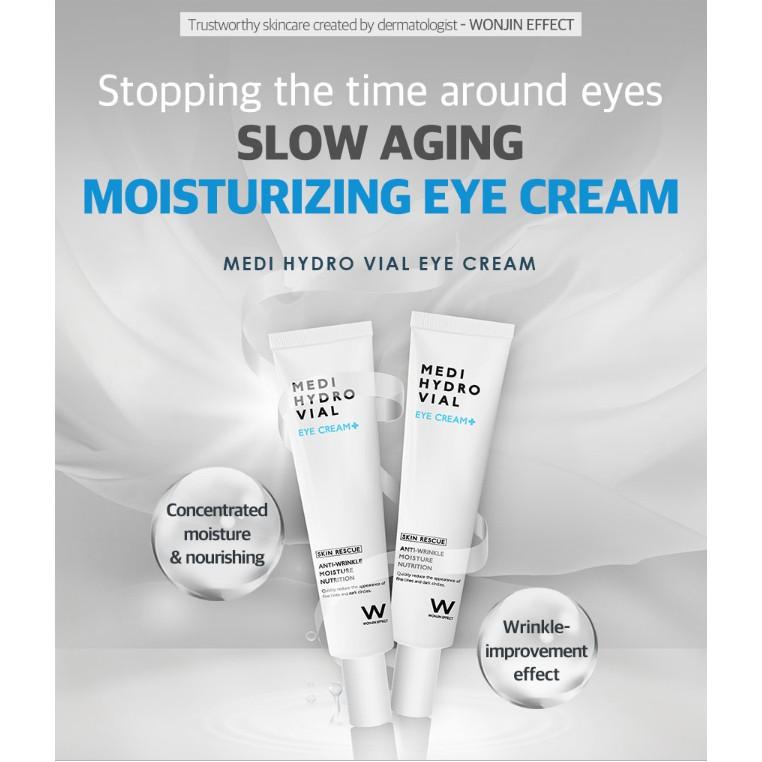 Wonjin Effect Medi Hydro Vial Eye Cream 30ml   Shopee Singapore