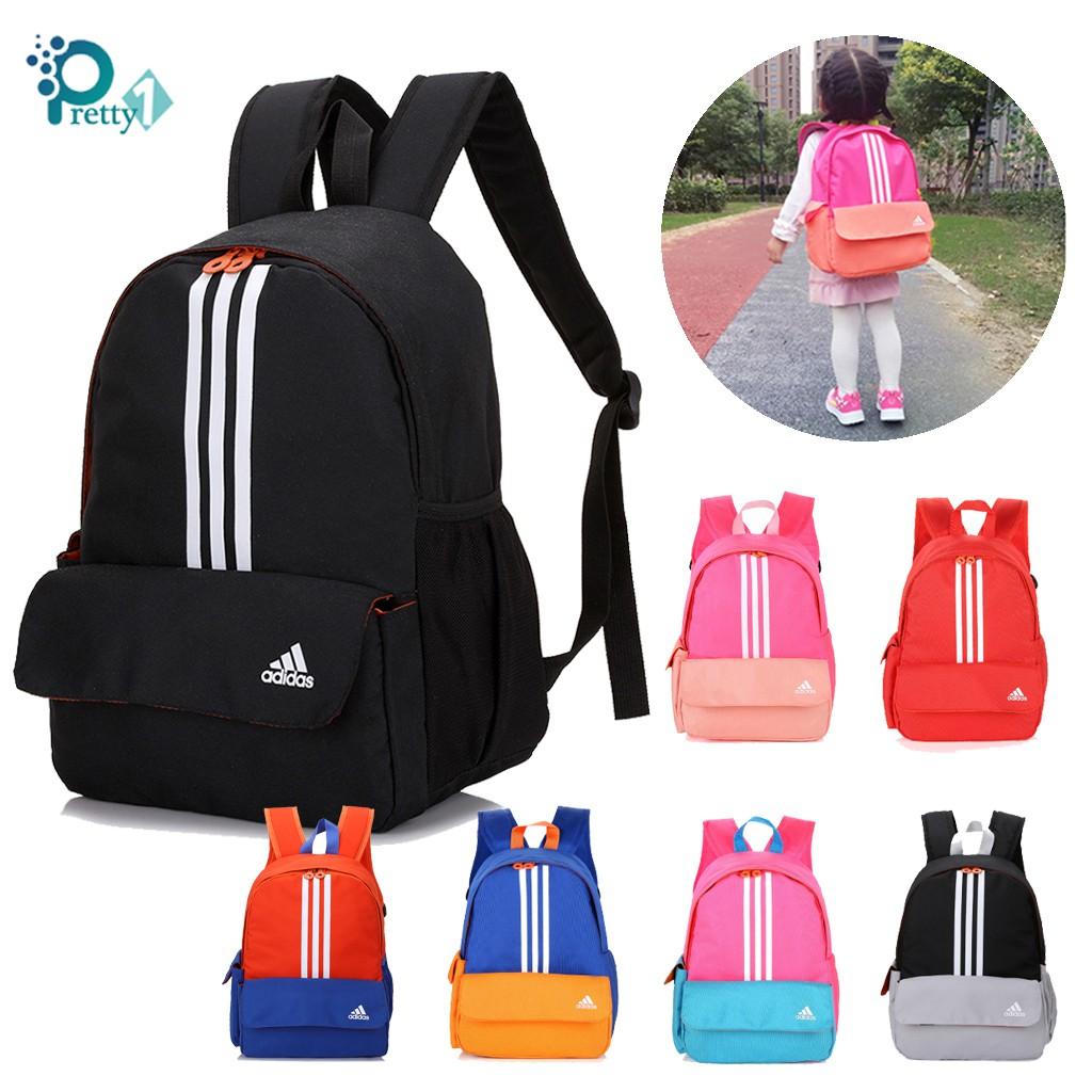 verano Compatible con insuficiente  Kids Bags Adidas Mini Backpack Classic 3 Stripes New Primary School Mini  Bagpack | Shopee Singapore