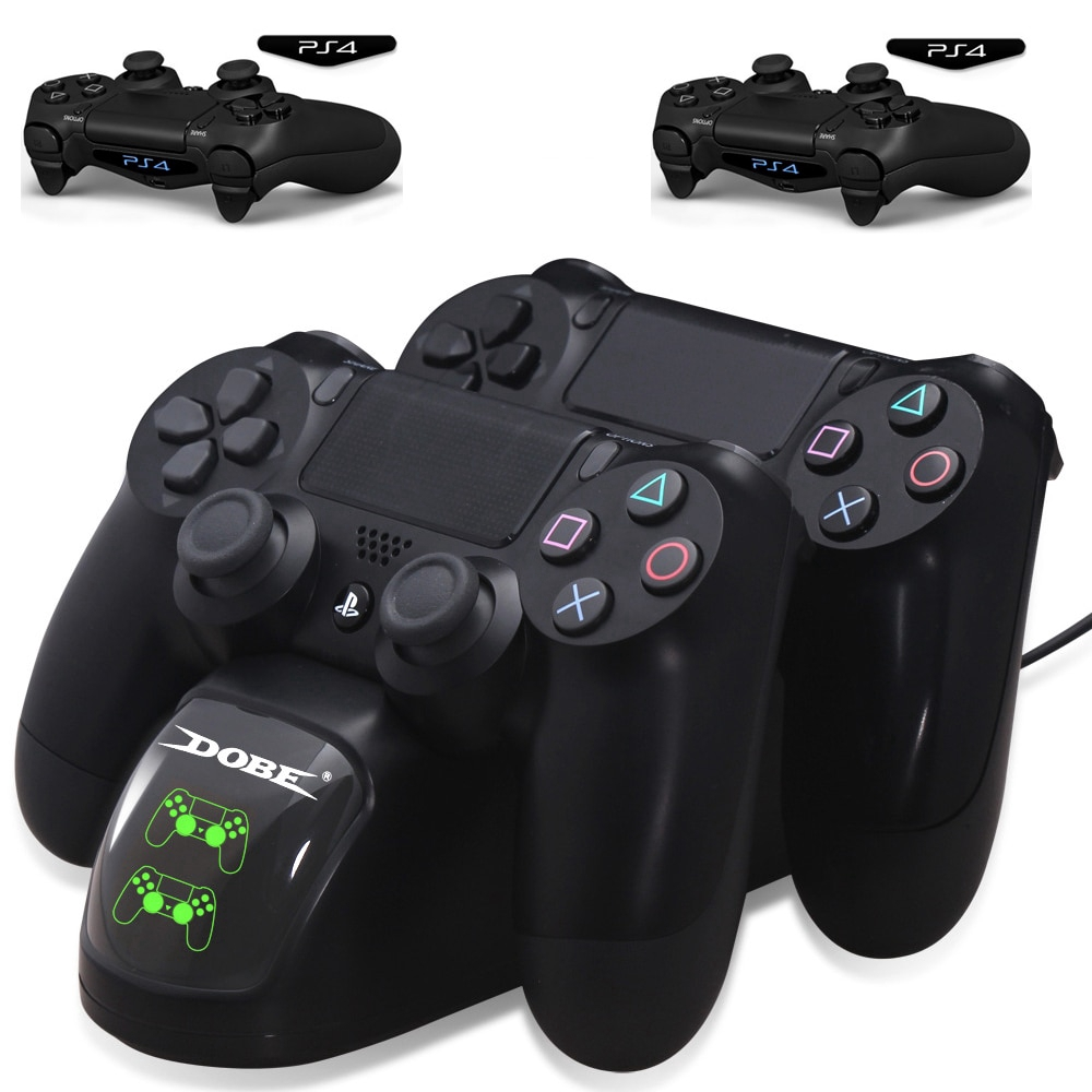 PS4 Controller USB Charger Station Dock For Sony PlayStation4 PS4 Slim PS4  Pro