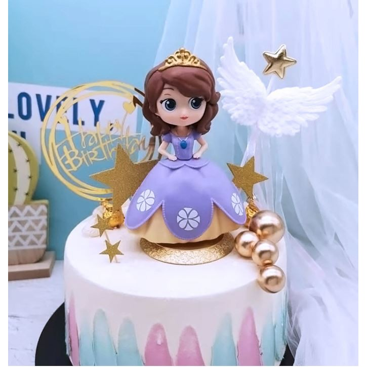 Remarkable Princess Sofia Sophia Toy Figurine Birthday Cake Topper For Kids Birthday Cards Printable Benkemecafe Filternl
