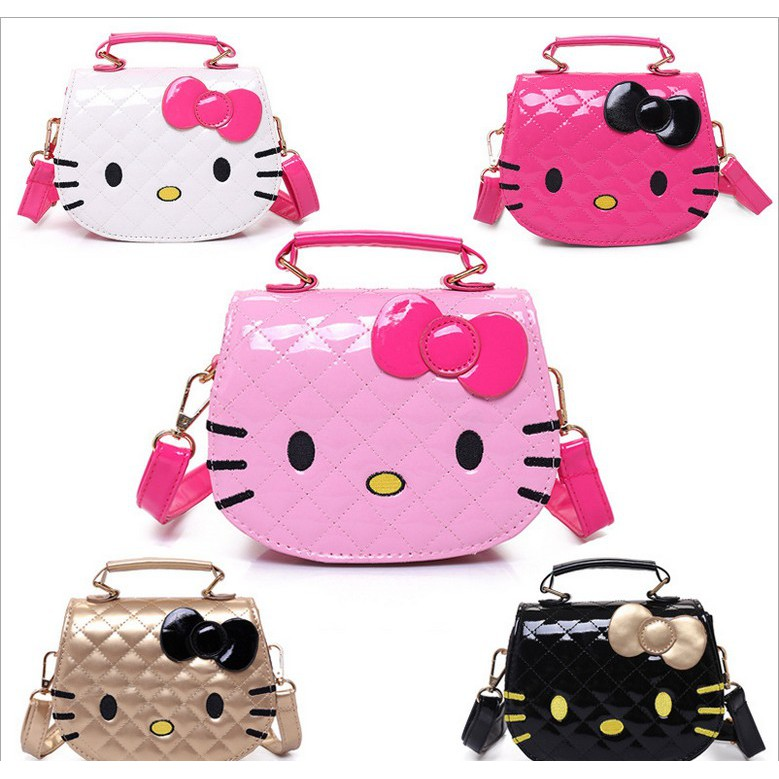 f69829f7e27c Hello Kitty Cute Shoulder Bag Wallet Purse For Kids Girls Gift ...