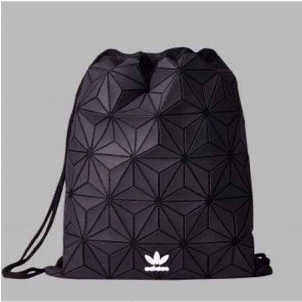 AUTHENTIC  Adidas 3D Mesh Issey Miyake Drawstring Bag Gym Sack ... 2692e70597b0c