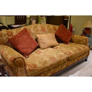 A Three Seater Italian Style Sofa