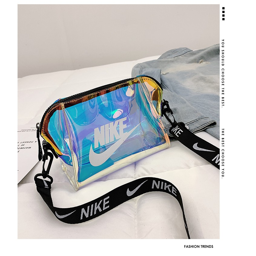 10b98adce Nike Mini Swoosh Korean Waist Bag Sling Bag Shoulder Bag Casual Crossbody  Bags | Shopee Singapore
