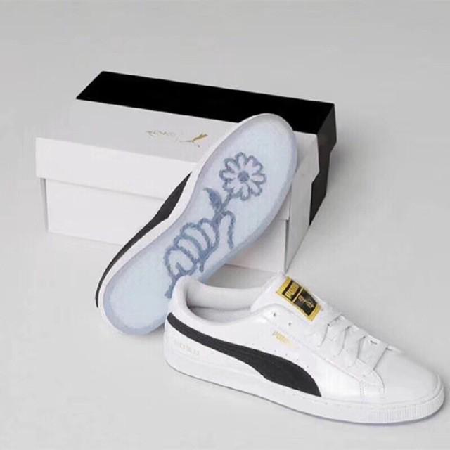 Original PUMA x BTS Basket Patent Sneakers Puma x BTS Court Star Sneakers