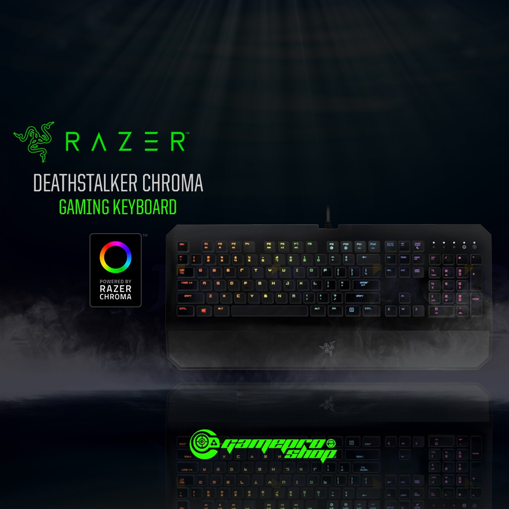 beb078f67eb Razer Deathstalker Chroma - Expert Gaming Keyboard | Shopee Singapore