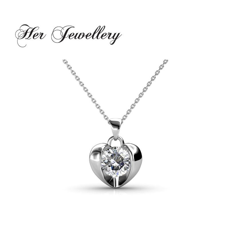5b1af51dd3 Simply Love Pendant Embellished with Crystals from Swarovski®