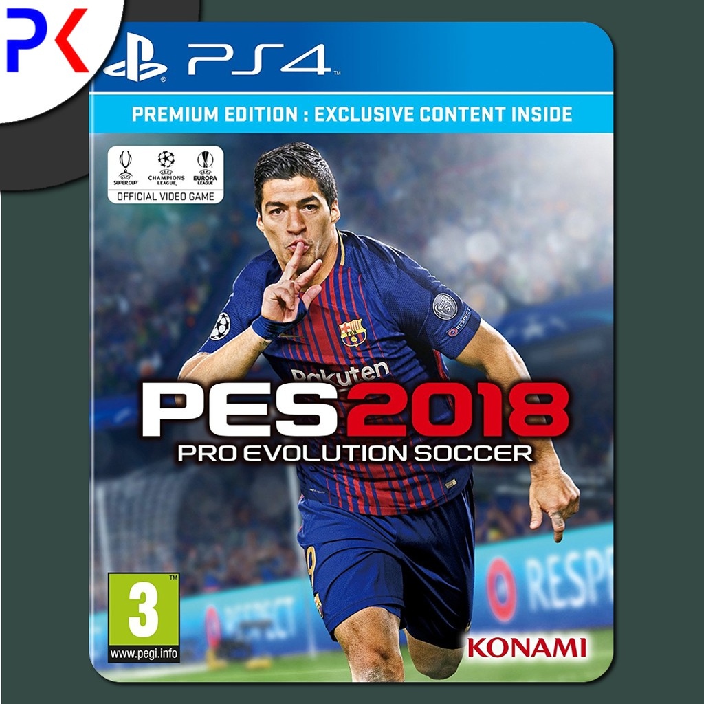 Ps4 Pro Evolution Soccer Pes 2018 Winning Eleven Shopee Singapore