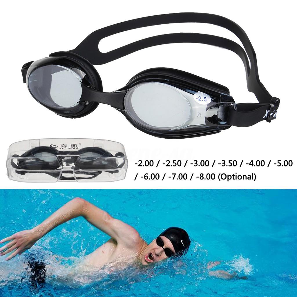 03e87510efba Prescription Swimming Goggles Underwater Degree Len Glasses
