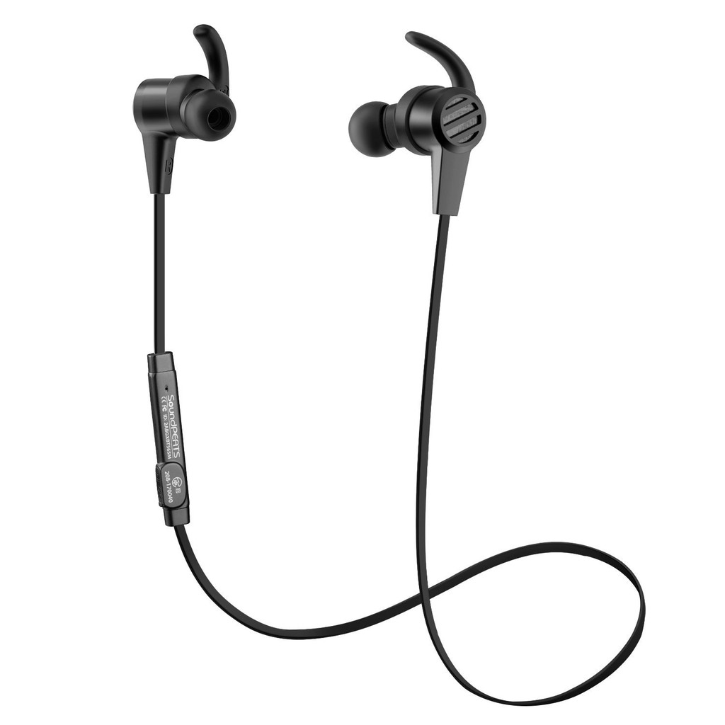 SoundPEATS New Q36 Magnetic Wireless Retro Earbuds Sport In-Ear 8Hr long  play