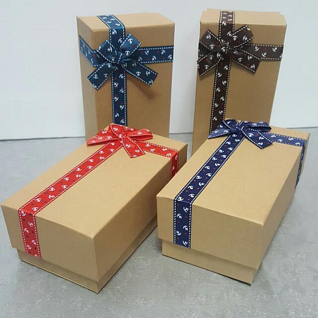 KRAFT PAPER Gift box @3.90 Each Piece | Shopee Singapore