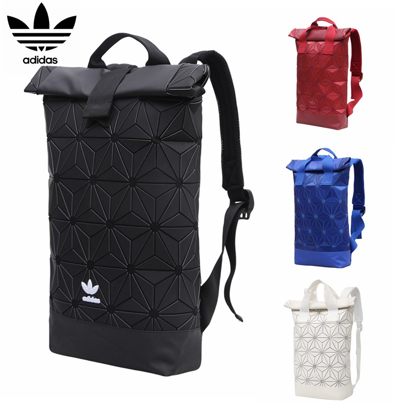 0442eb4f9f AUTHENTIC  Adidas 3D Mesh Roll Top Backpack Issey Miyake Bag ...