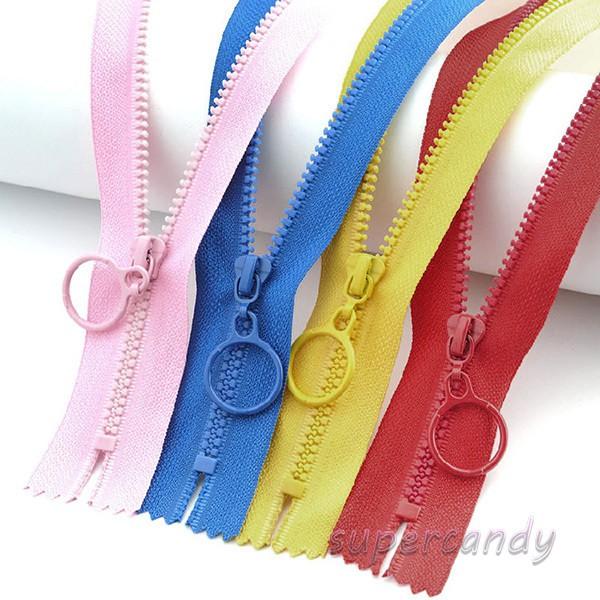 18Pcs 40cm Multi-colored Nylon Invisible Zipper Closed End DIY Sewing Craft