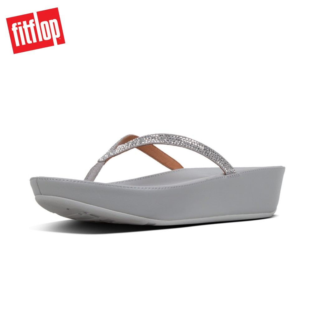 b6a85e9a1 Fitflop™ Lottie Chain Print Silver Women Sandals
