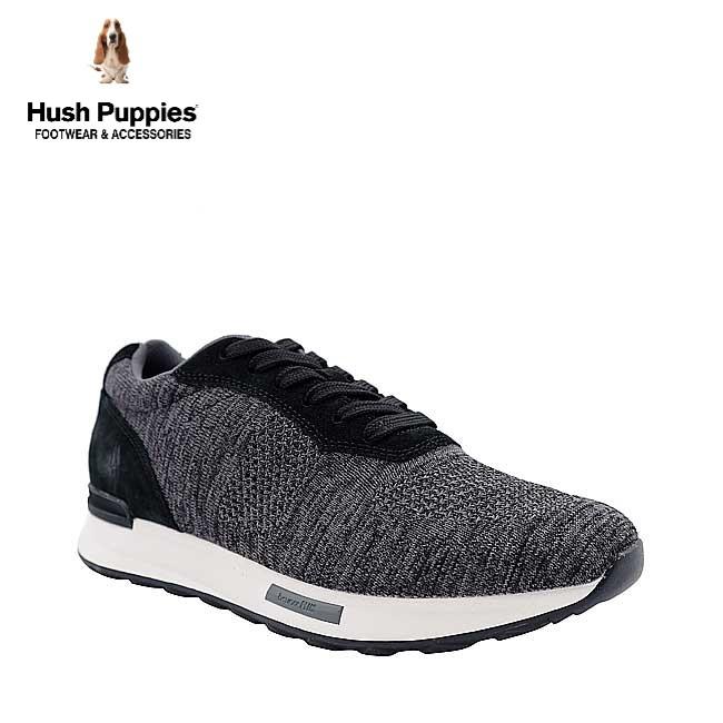 Hush Puppies Henri Knit Jogger In Black Shopee Singapore
