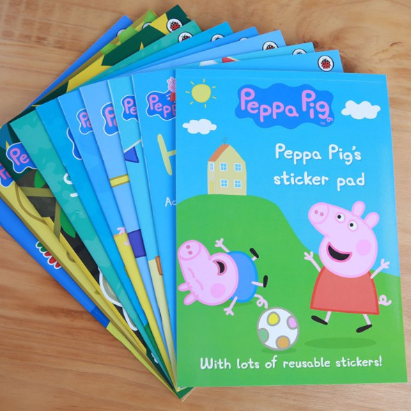 b839084df8 Peppa Pig English Picture Book Full Set of 20 Preschool English Gift CDs