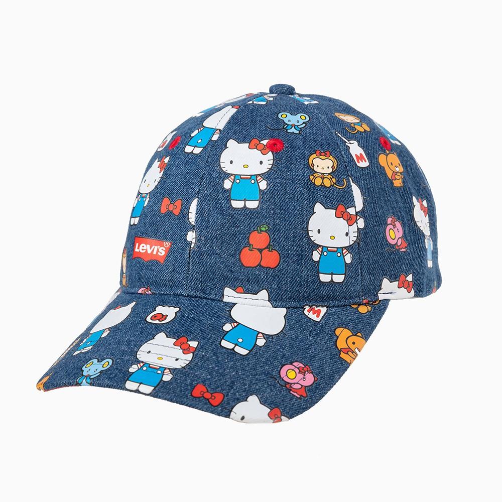 Sanrio Hello Kitty Adjustable Sports Visor Blue