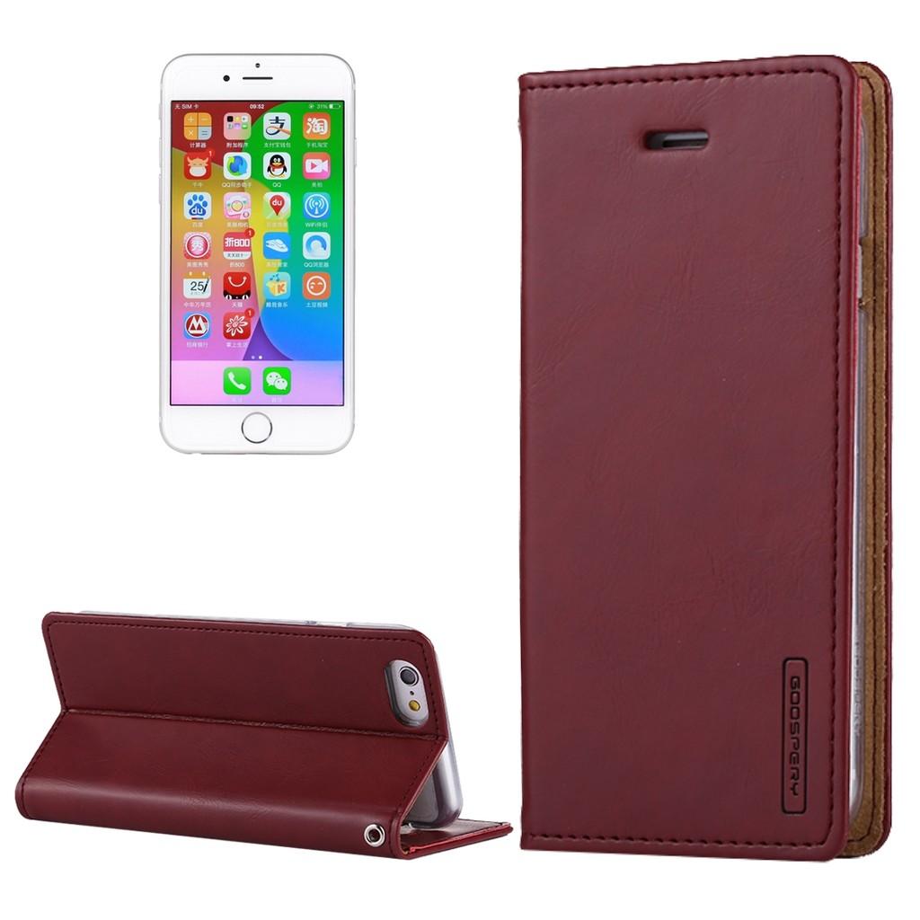 Sun Mercury Goospery Fancy Diary For Iphone 8 Plus 7 Cross Case Yellow Hotpink Texture Hori Shopee Singapore