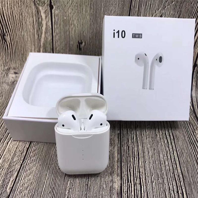 New i10 TWS Double Airpod Wireless Bluetooth Earphone