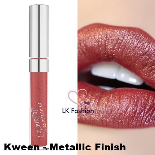 💕 Instock 💕 Colourpop Ultra Metallic Lip 💋 Kween 💋 | Shopee Singapore