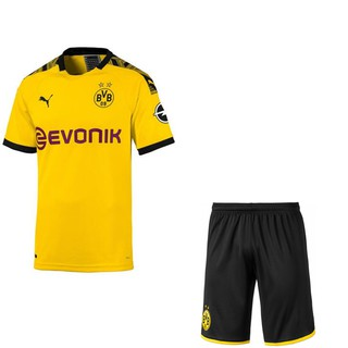 official photos ec870 34f1f 2019/2020 Boy Dortmund Jersey Borussia Reus BVB Home ...