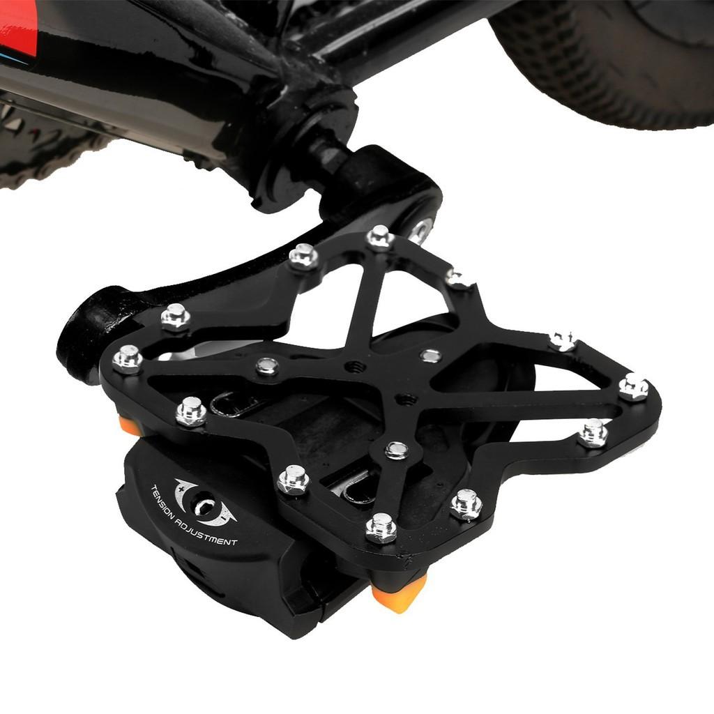 328b08f616b If Bike Clipless Pedal Platform Adapter For SHIMANO SPD-SL Black + Pedal  Cleat