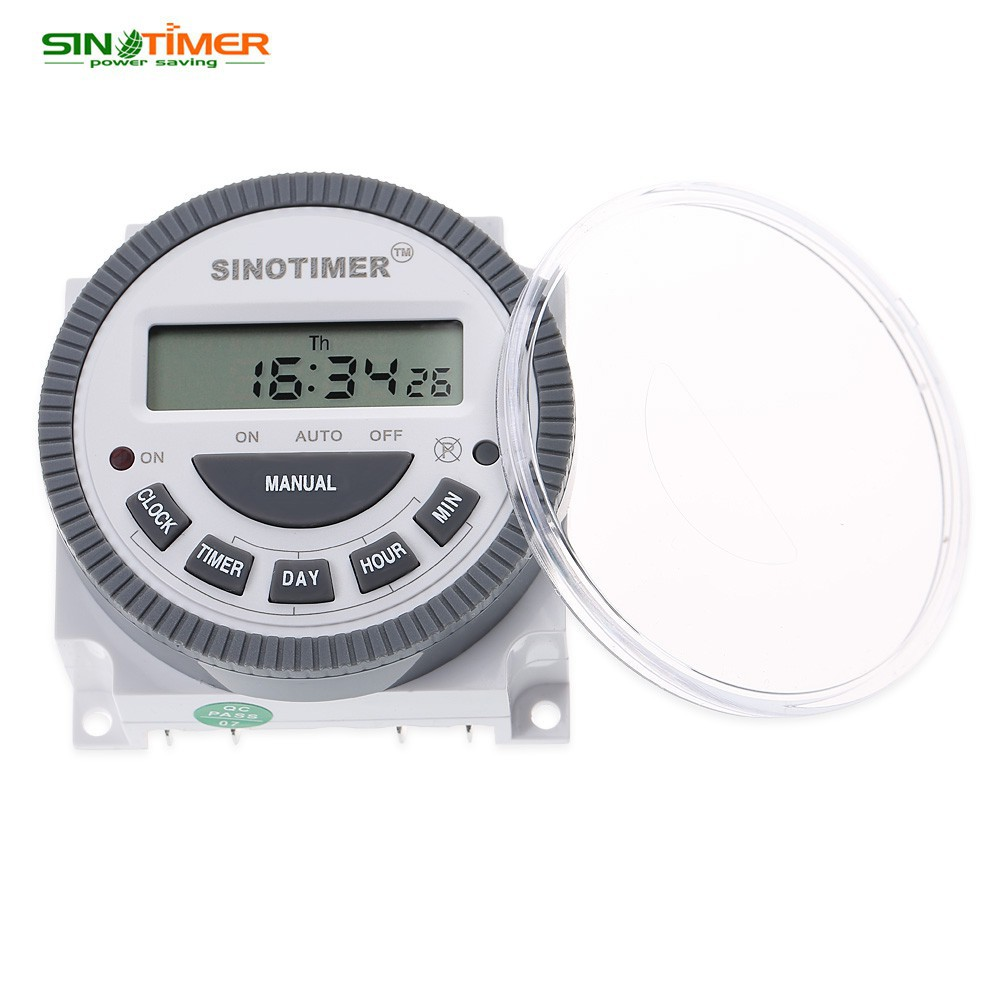 220V LCD Digital Programmable Control Power Timer Switch Time Relay | Shopee Singapore